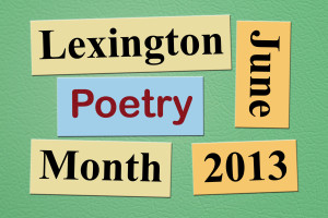 Lexington Poetry Month 2013