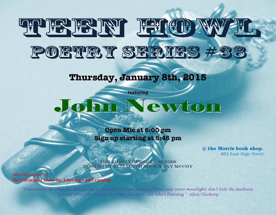 Publishing poetry for teen
