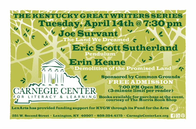 KY Great Writers Spring 2015